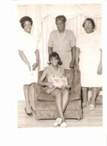 Mama, Grandma Jean, Grandma Scott and Mama Lou