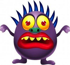 14325318-illustration-of-purple-monster-cartoon
