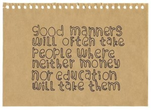 good_manners