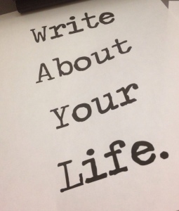 Write_about_your_life
