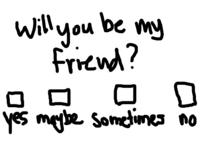 Image result for are you my friend?