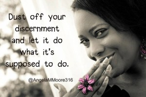 Use your discernment (2)