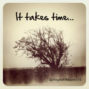It takes time (2)
