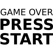 Game-Over-Press-Start